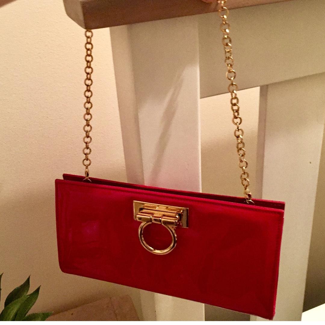 Authentic Salvatore Ferragano clutch / handbag