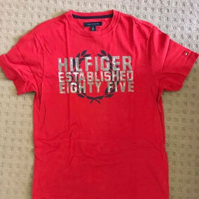 Authentic Tommy Hilfiger Mens T Shirt