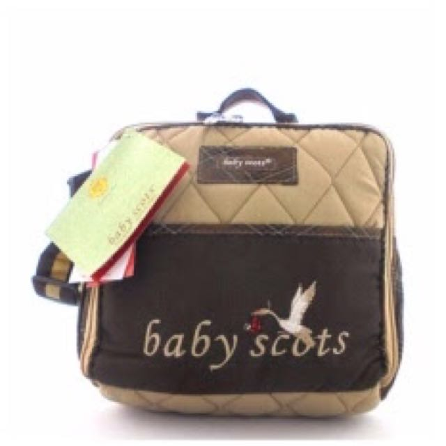 Baby Scots Embroidery Simple Bag