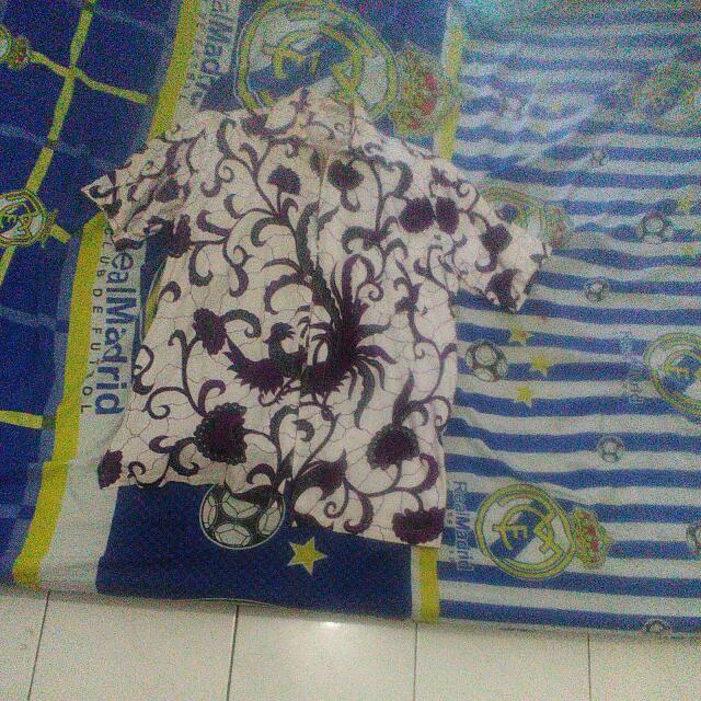 Baju Batik Cowo Dapet Celana Bahan