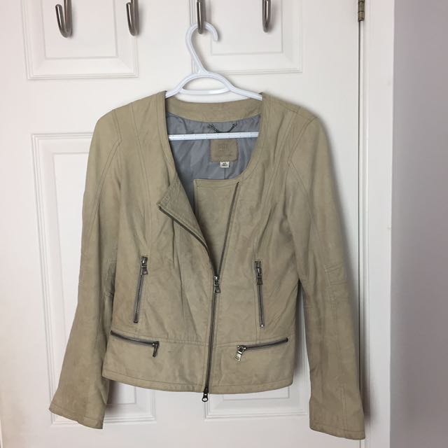 Banana Republic Faux Leather Jacket