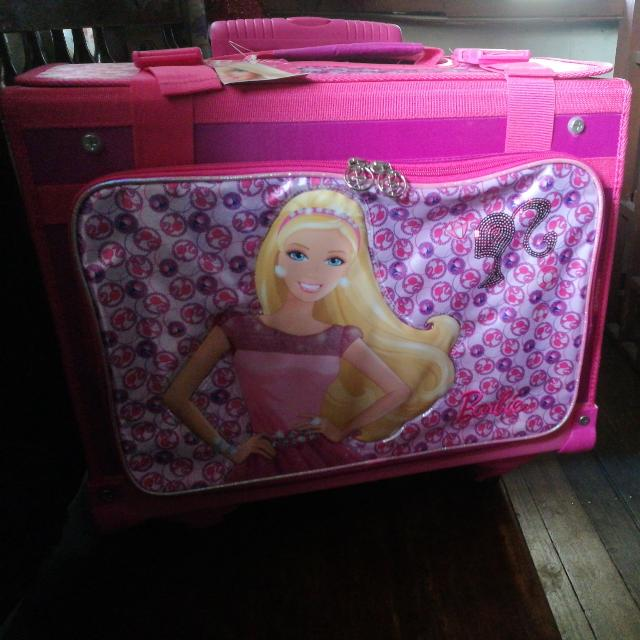REPRICED! Barbie School Trolley For Girls