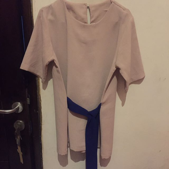 Blouse Mocca Belt