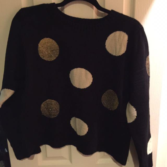 BNWT Mossman Cropped Knit