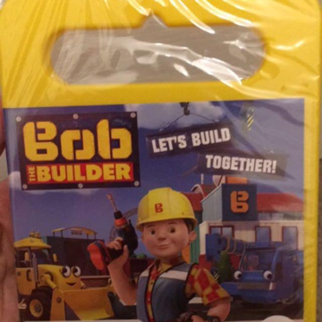 Bob The Builder Let's Build It Together DVD