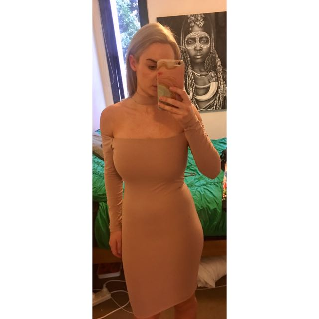 Bodycon Choker Dress Size 8