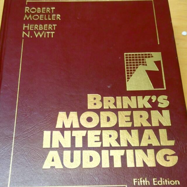 Brink's Modern Internal Auditing