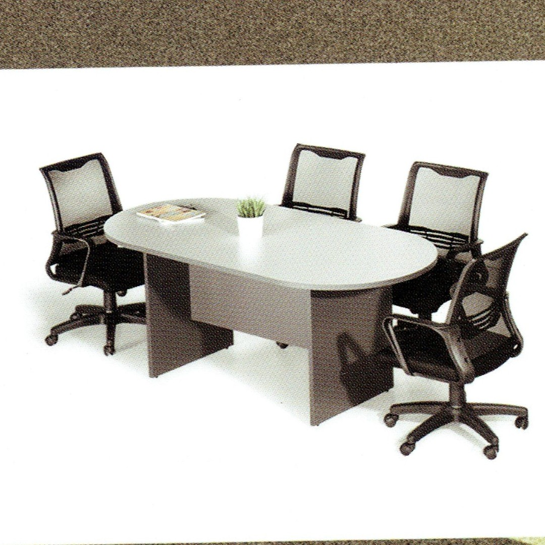 BUDGET CONFERENCE TABLE OBLONG Everything Else Others On Carousell - Oblong conference table