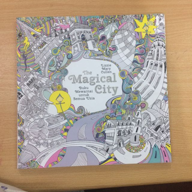Buku Mewarnai Segala Usia The Magical City - Lizzie Mary Cullen