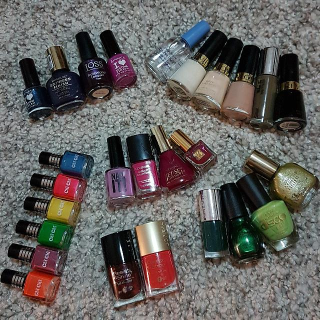 Nail Polish 50c For Any Quantity