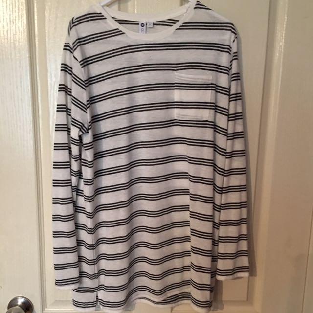 B&W Long Sleeve Shirt