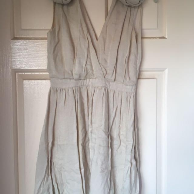CAMEO Women's Knotted Bubble Mini Dress Size 6