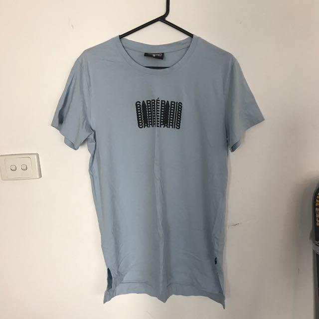 Carré Paris Baby Blue T-Shirt Medium