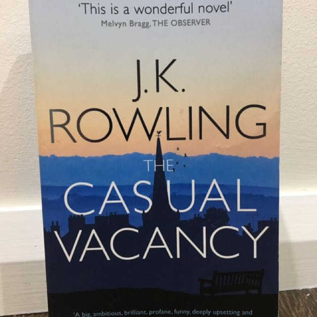 Casual Vacancy By J K Rowling
