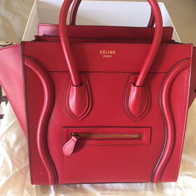 Celine Luggage (Micro) AUTHENTIC