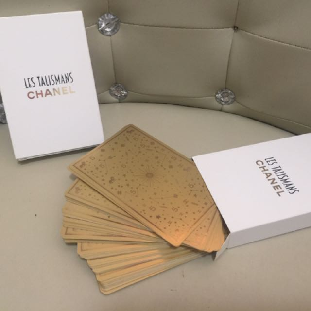 Chanel Playing Cards