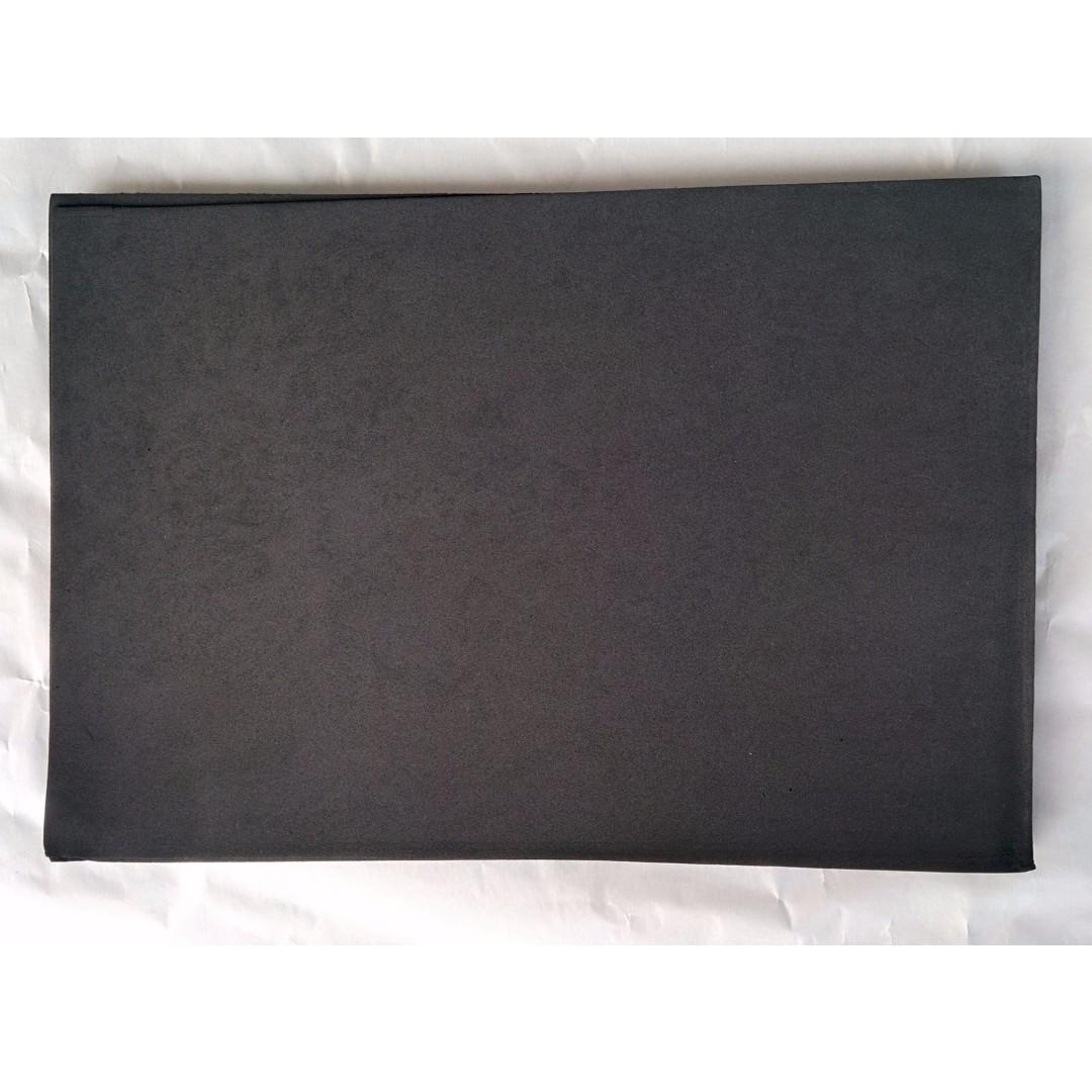 Craft EVA Foam Sheets Flexible Foam Sheet 2mm A4 - Black