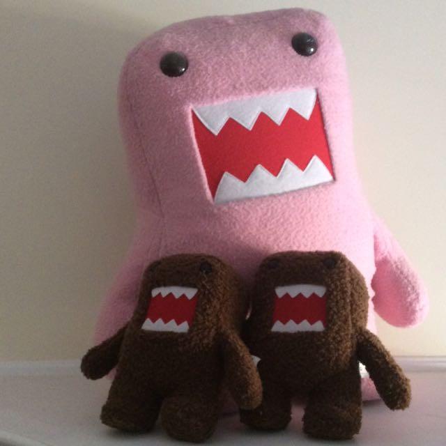 Domo Stuffed Animals