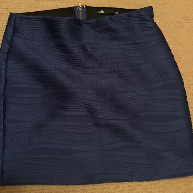 Dotti Blue Skirt
