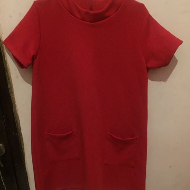 Dress Red Kantong