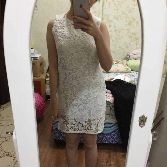 Flowery Laces Dress
