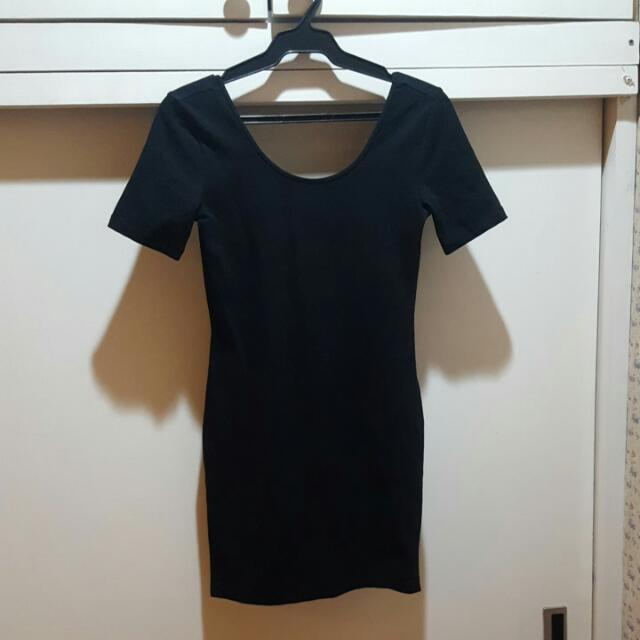 Forever21 Black Bodycon Dress