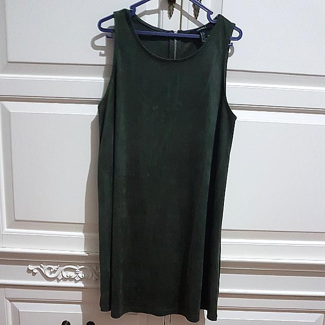 Forever 21 Suede Dress