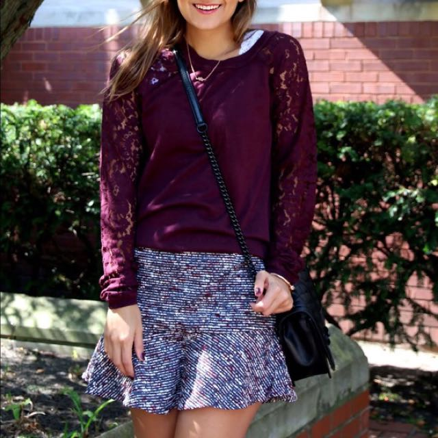 Forever 21 Tweed Skirt