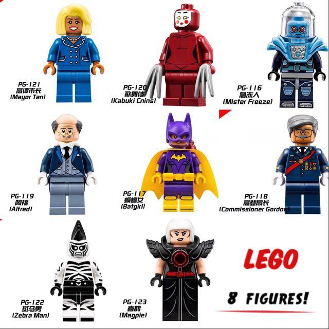 FREE ONGKIR Lego Batman Movies Mini Figures