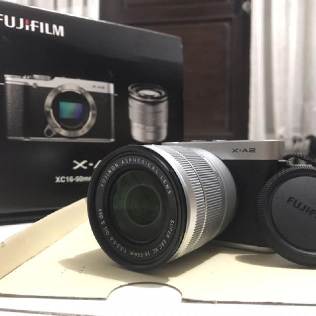 FUJIFILM XA-2 With Lens 16-50 mm (Black)