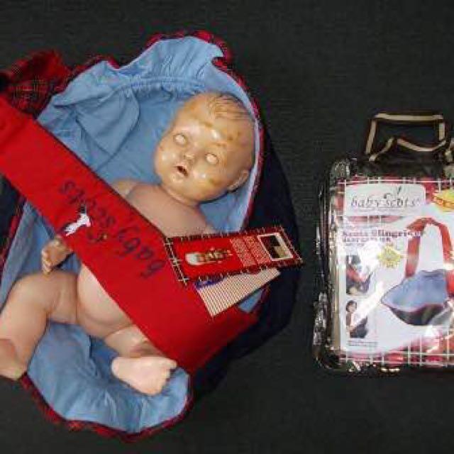 Gendongan Bayi Baby Scots