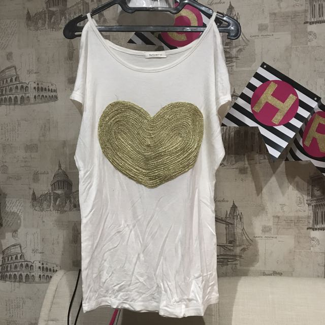 Heart Yellowline Top