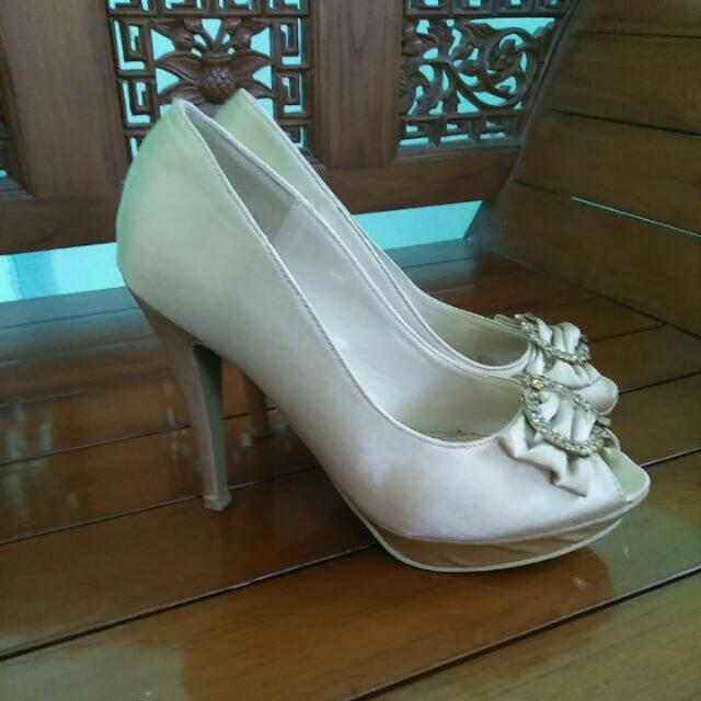 High Heels Marie Claire Gold