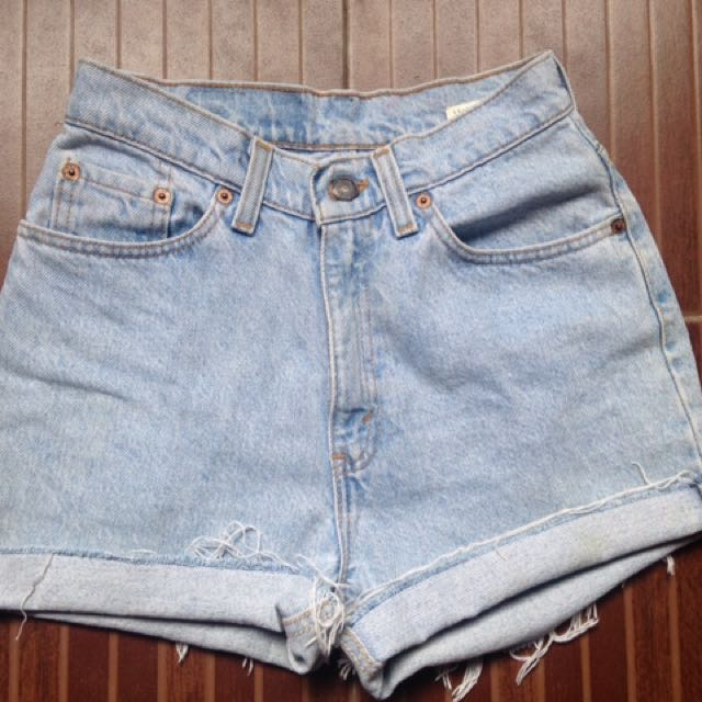 Highwaist Denim Short