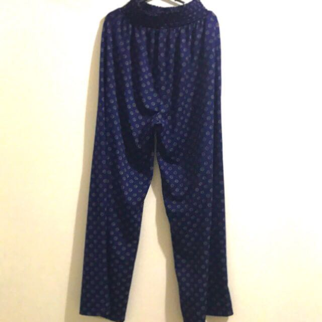 H&M Blue Cotton Pants