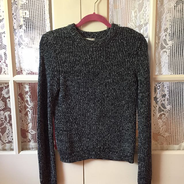 H&M Blue Knit Sweater