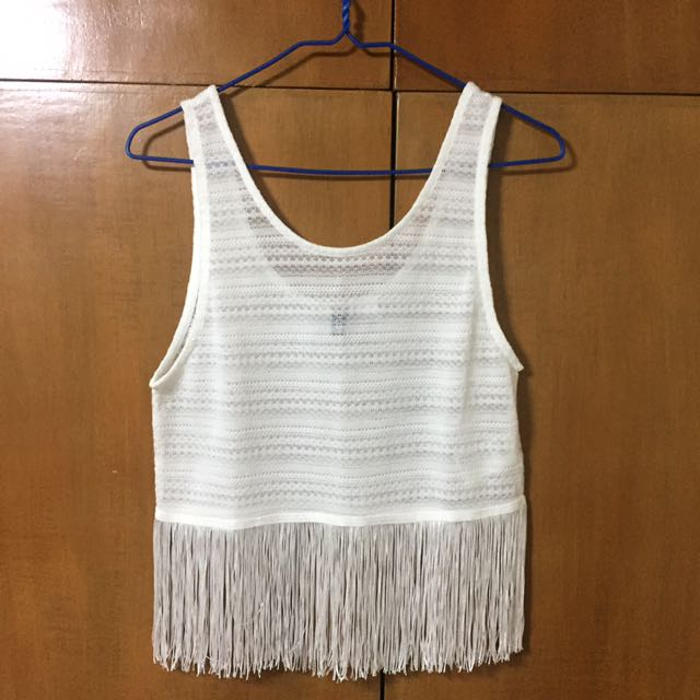 H&M white cover up