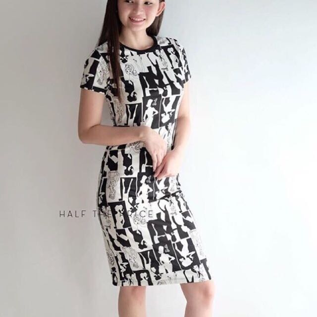 HTP Barbie Bodycon Dress