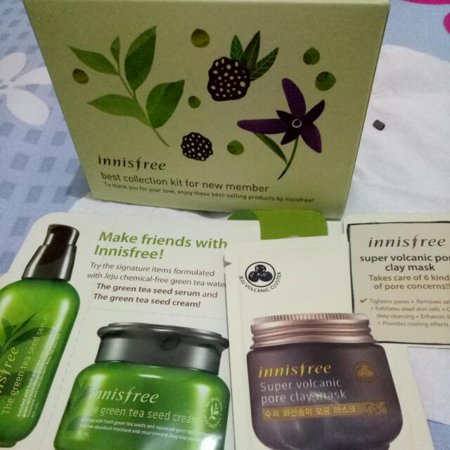 Innisfree Package Kit And Sample