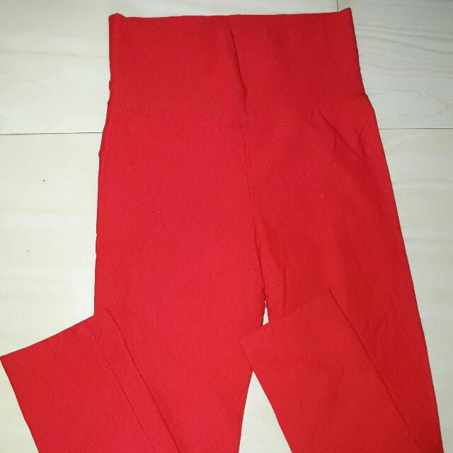 Jeggings Red Small