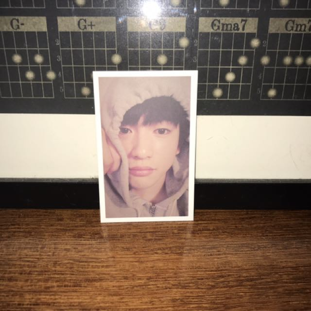 Jinyoung 'Flight Log: Departure' Photocard