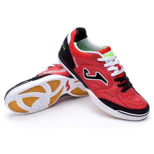 b6210fd5 Joma Top Flex Futsal Shoes (Red-Black-White Colourway), Sports ...