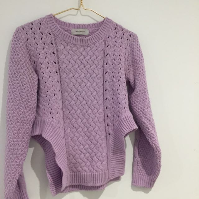 Jumper Knit Lilac