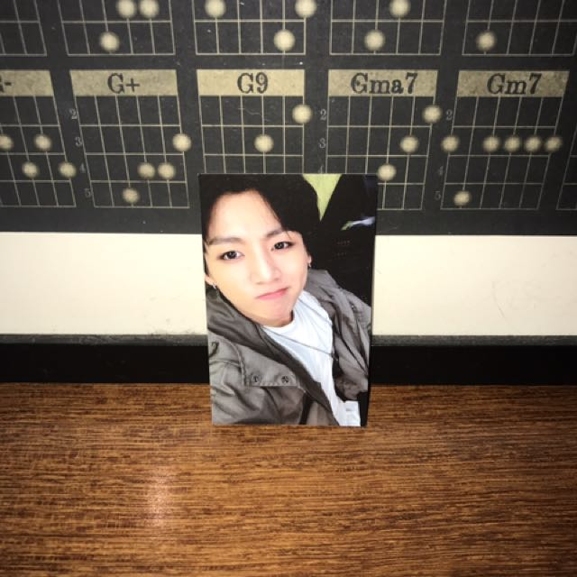 Jungkook 'The Most Beautiful Moment in Life, Pt. 2' Photocard