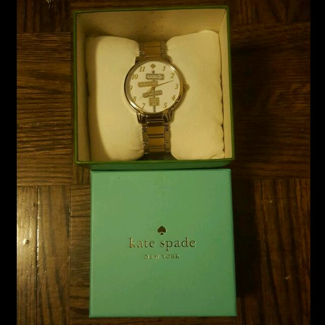 Kate Spade Two Tone Watch