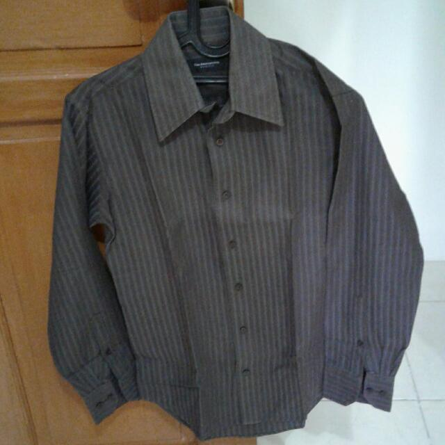 Kemeja Panjang The Executive Size 14 1/2 Brown