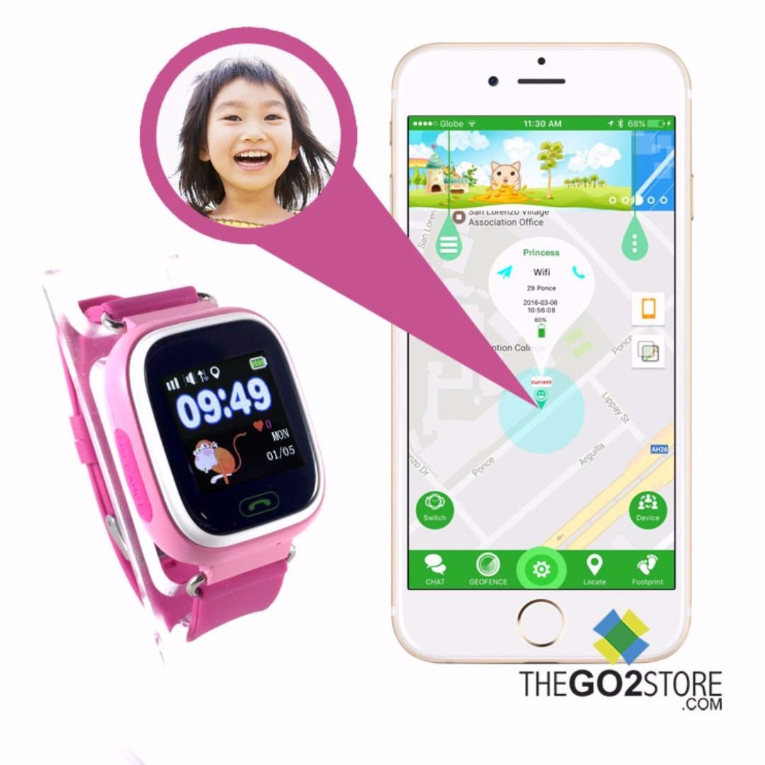 Kids GPS Watch Touch Screen