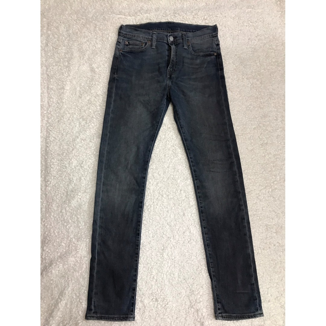 LEVI'S LEVIS 05510-0612 W29 L32 刷舊窄版牛仔褲(髒污設計) 501 502 505 523 522