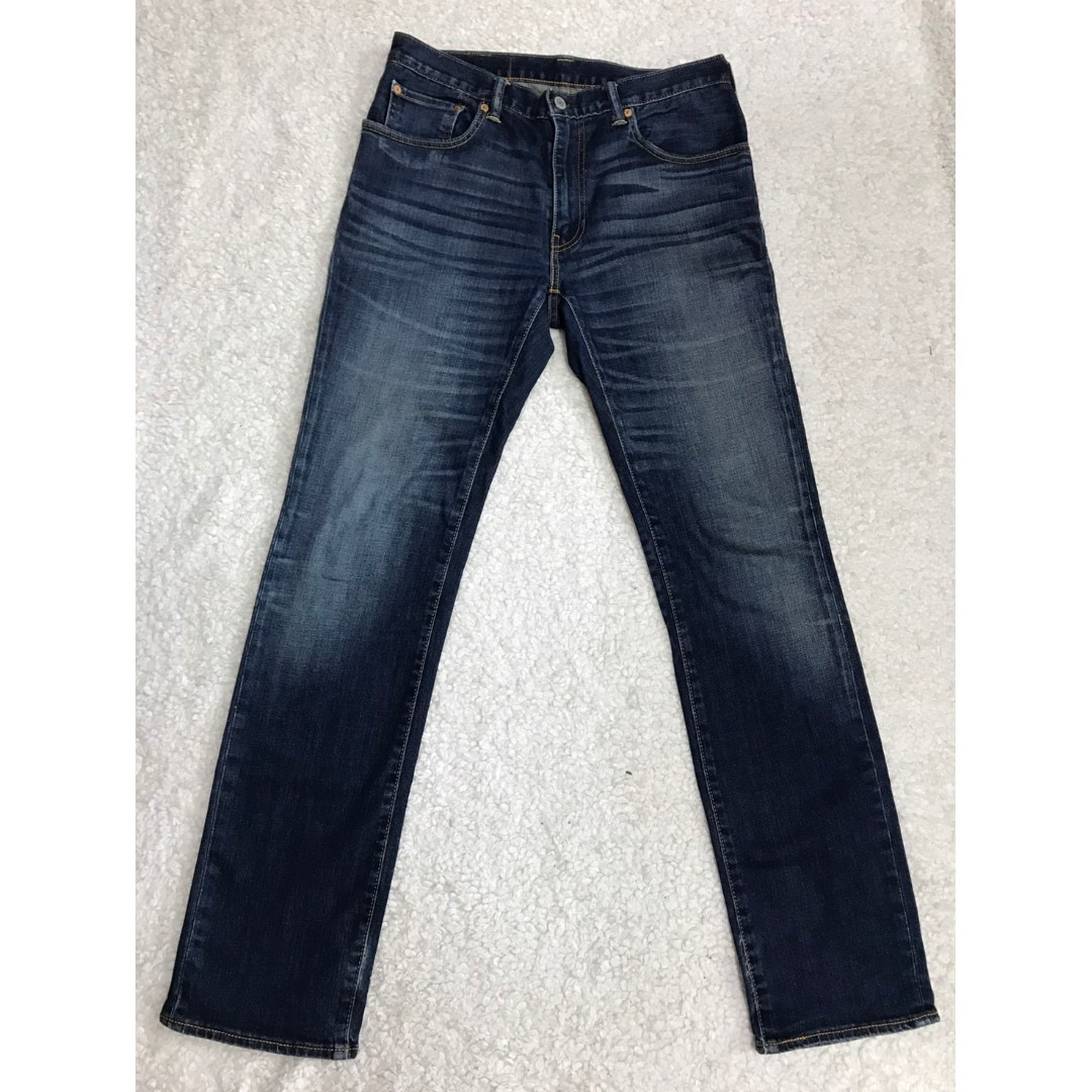 LEVI'S LEVIS 05551-0080 W32 L33 合身小直筒牛仔褲 501 502 505 523 522