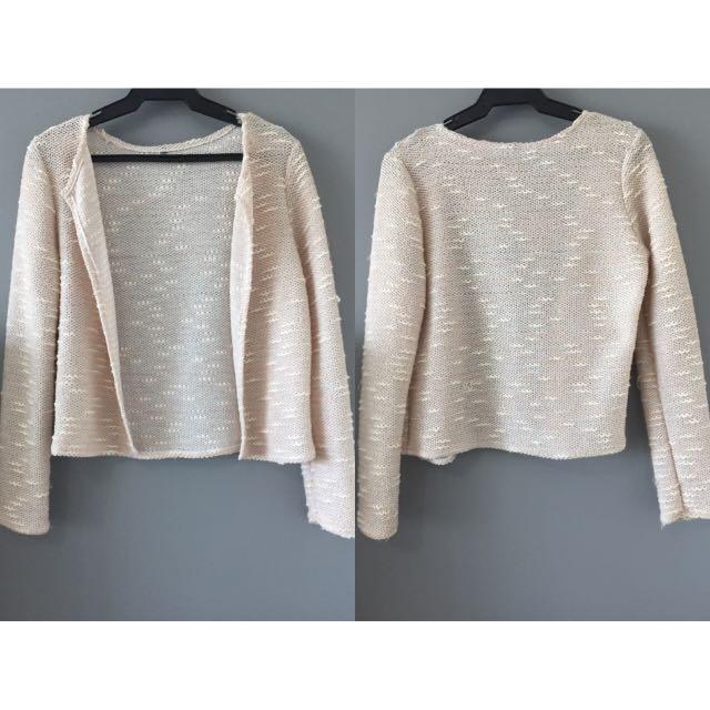 Light Pink Wool Blazer